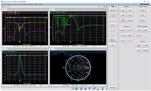 连接器,天线,放大器和衰减器)的用户需使用功能强大的矢量网络分析仪