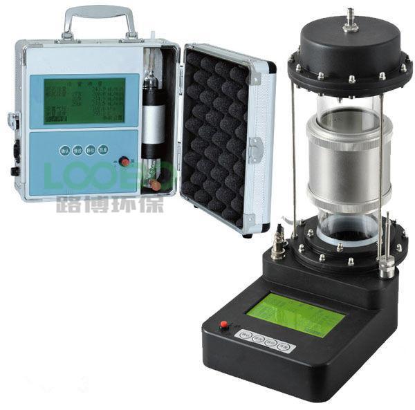 LB-2020型皂膜流量计大气采样器的流量校准