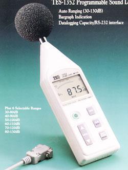 中国台湾泰仕TES1352H<strong>噪音计</strong>、声级计噪声检测