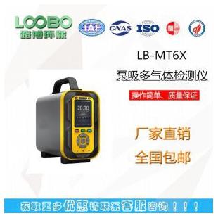 LB-MT6X泵吸手提式多气体分析仪