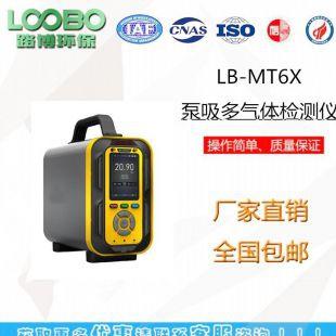 LB-MT6X-1泵吸手提式六合一气体分析仪