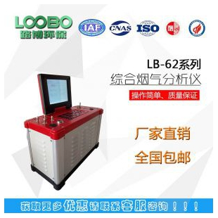 LB-62综合烟气分析仪便携小巧,操作简单