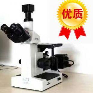 四川三目倒置金相显微镜4XC-W价格-厂家-图文
