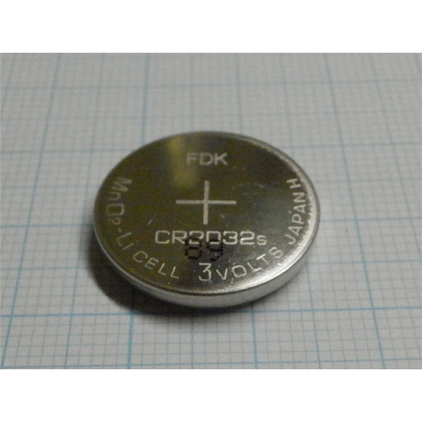 锂电池BATTERY,CR2032S,用于UV-1800