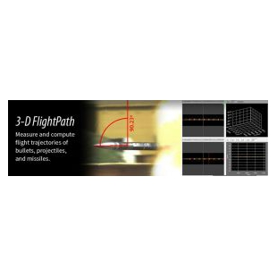 3-D航跡炮彈飛行分析軟件
