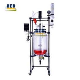 禾普双层玻璃反应釜HEB-100L