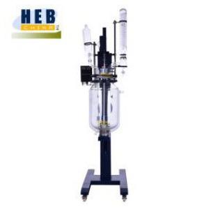 升降双层玻璃反应釜HEB-50L