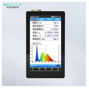 OHSP350光谱彩色照度计