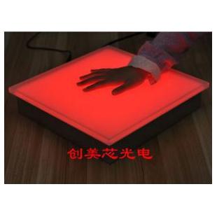 LED感应地砖灯-感应发光砖-发光地板