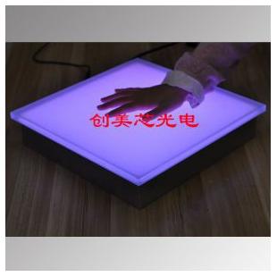LED互动感应地砖-感应地砖灯-发光地砖