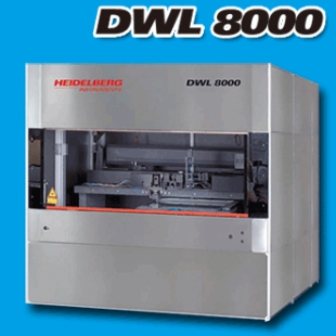 德国海德堡Heidelberg DWL 8000 高级大型2D,3D直写设备