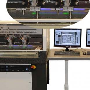 德国KSI 四探头超声波扫描显微镜V-quattro系统