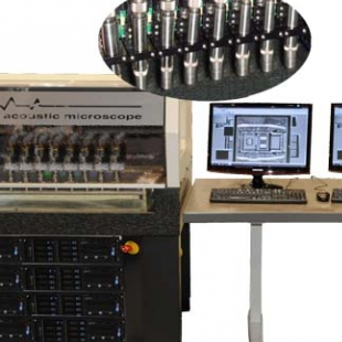 德国KSI 八探头大型超声波扫描显微镜系统V-Octo