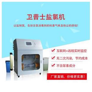 深圳衛普士鹽氯機以鹽制氯環保消毒儀器設備