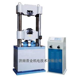 普业液晶屏显液压万能试验机WES-600B