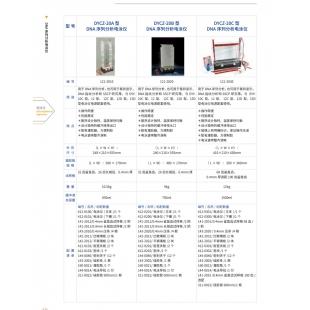 北京辙辕DYCZ-20C型DNA序列分析电泳仪