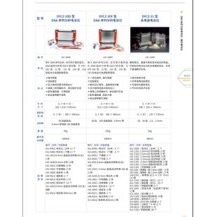 北京辙辕DYCZ-20D型DNA序列分析电泳仪