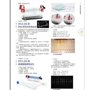 北京辙辕DYCZ-20G型DNA序列分析电泳仪