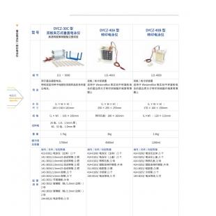 北京轍轅DYCZ-40A型轉印電泳儀