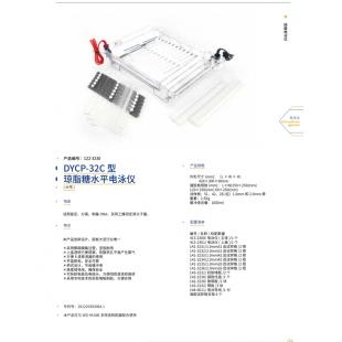 北京辙辕DYCP-32C型琼脂糖水平电泳仪(大号)