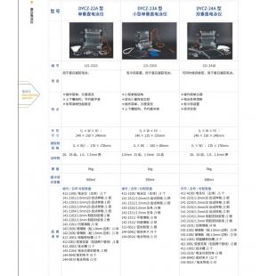 北京轍轅DYCZ-24A型雙垂直電泳儀