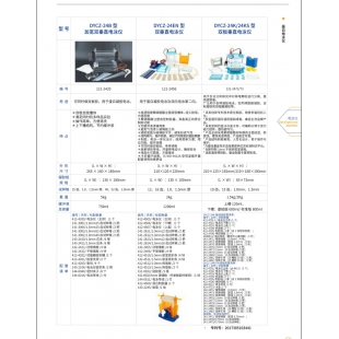 北京轍轅DYCZ-24EN型雙垂直電泳儀