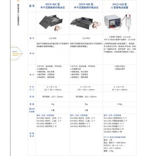 北京辙辕DYCZ-41B型U型管电泳装置