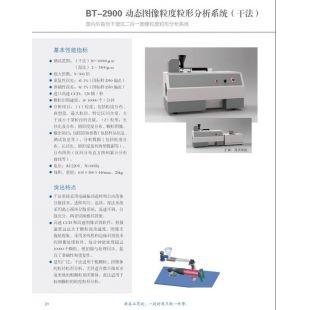 北京轍轅BT-2900動態圖像粒度粒形分析系統(干法)
