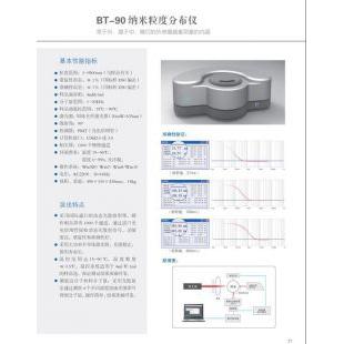 北京轍轅BT-90納米粒度分布儀