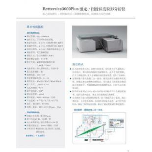北京轍轅Bettersize3000PIUS激光/圖像粒度粒位分布儀