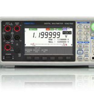 日本巖通計測IWATSU 全新6位半數字萬用表 VOAC7602