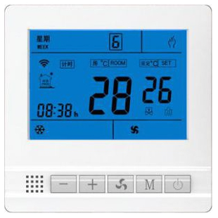 AC301系列中央空调液晶温控器