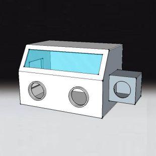 循环除湿型有机玻璃手套箱