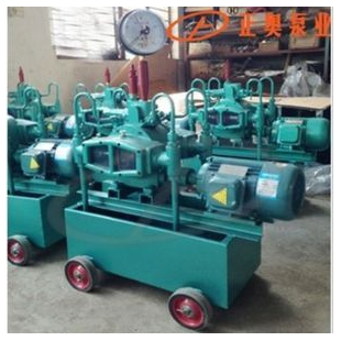 正奥泵业4DSY-100/10型电动试压泵铸铁材质水压测试泵