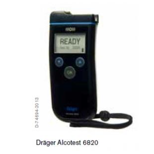 德尔格酒精检测仪Alcotest 6820