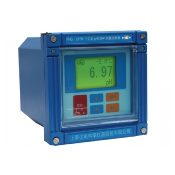 上海雷磁工业PH/ORP测量控制仪PHG-217D配PHGF-43