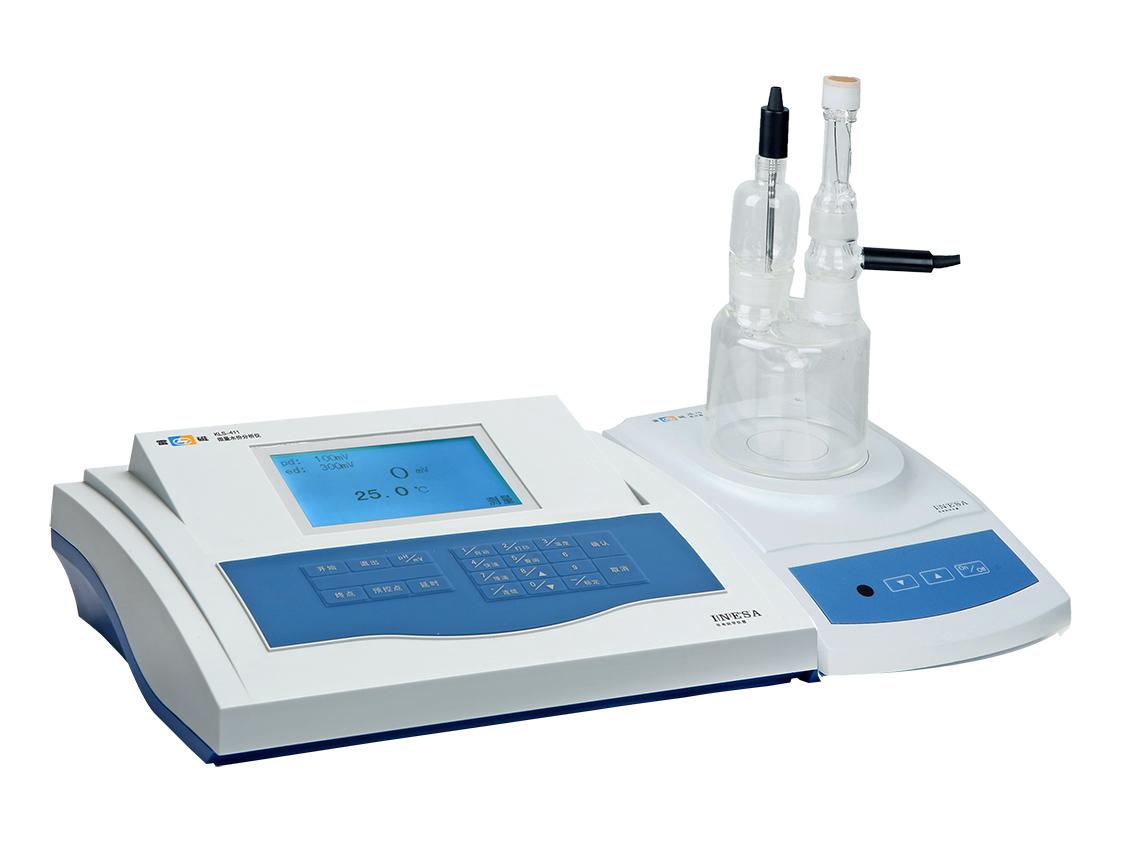 上海雷磁KLS-411型微量水份分析仪