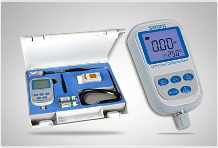 上海三信便携式电导率/TDS/盐度/电阻率测量仪SX713