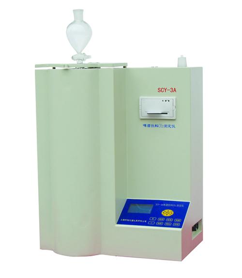 上海昕瑞啤酒饮料二氧化碳测定仪SCY-3C