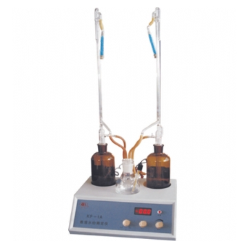 上海安亭电子水份测定仪KF-1A