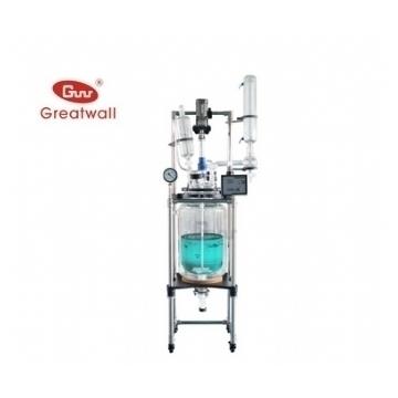 鄭州長城科工貿調速玻璃反應釜GR-10(雙層)