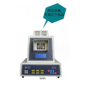 上海申光熔点仪(热值仪)系列WRR