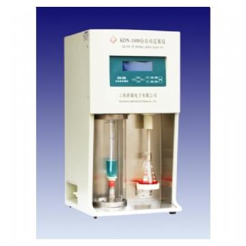 上海新嘉全自动定氮仪(蒸馏器)KDN-1000