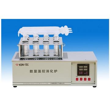 上海新嘉数显温控消化炉KDN-12C