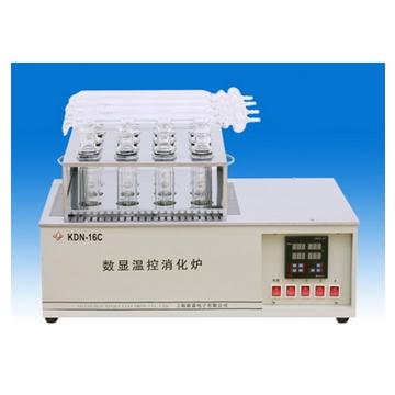 上海新嘉數顯溫控消化爐KDN-16C