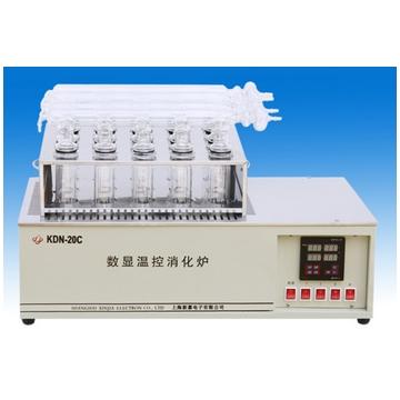 上海新嘉数显温控消化炉KDN-20C