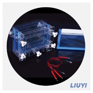 北京六一双板夹芯式垂直电泳仪DYCZ-30C