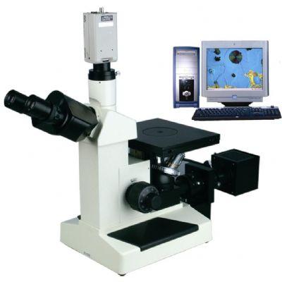上海光学电脑型三目倒置金相显微镜XJL-4XCE
