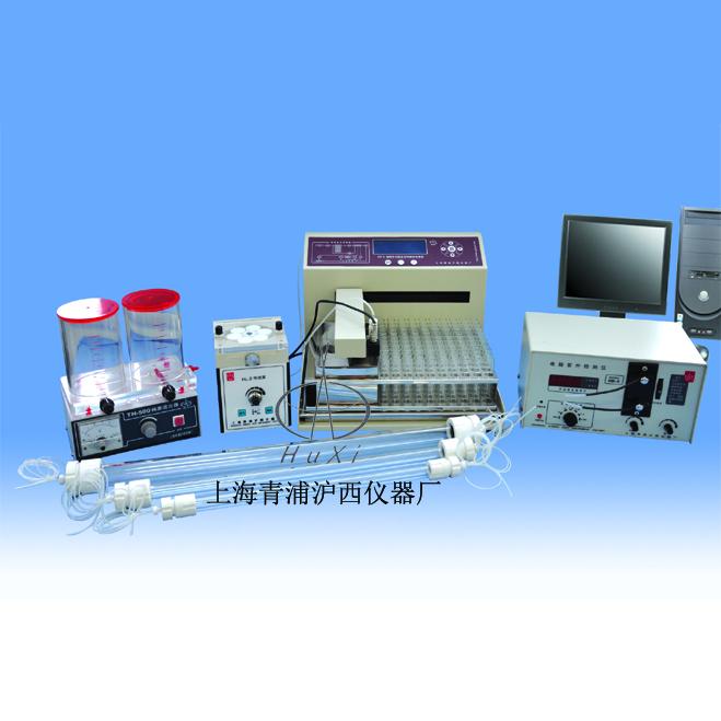 上海青浦滬西自動液相色譜分離層析儀MF99-2