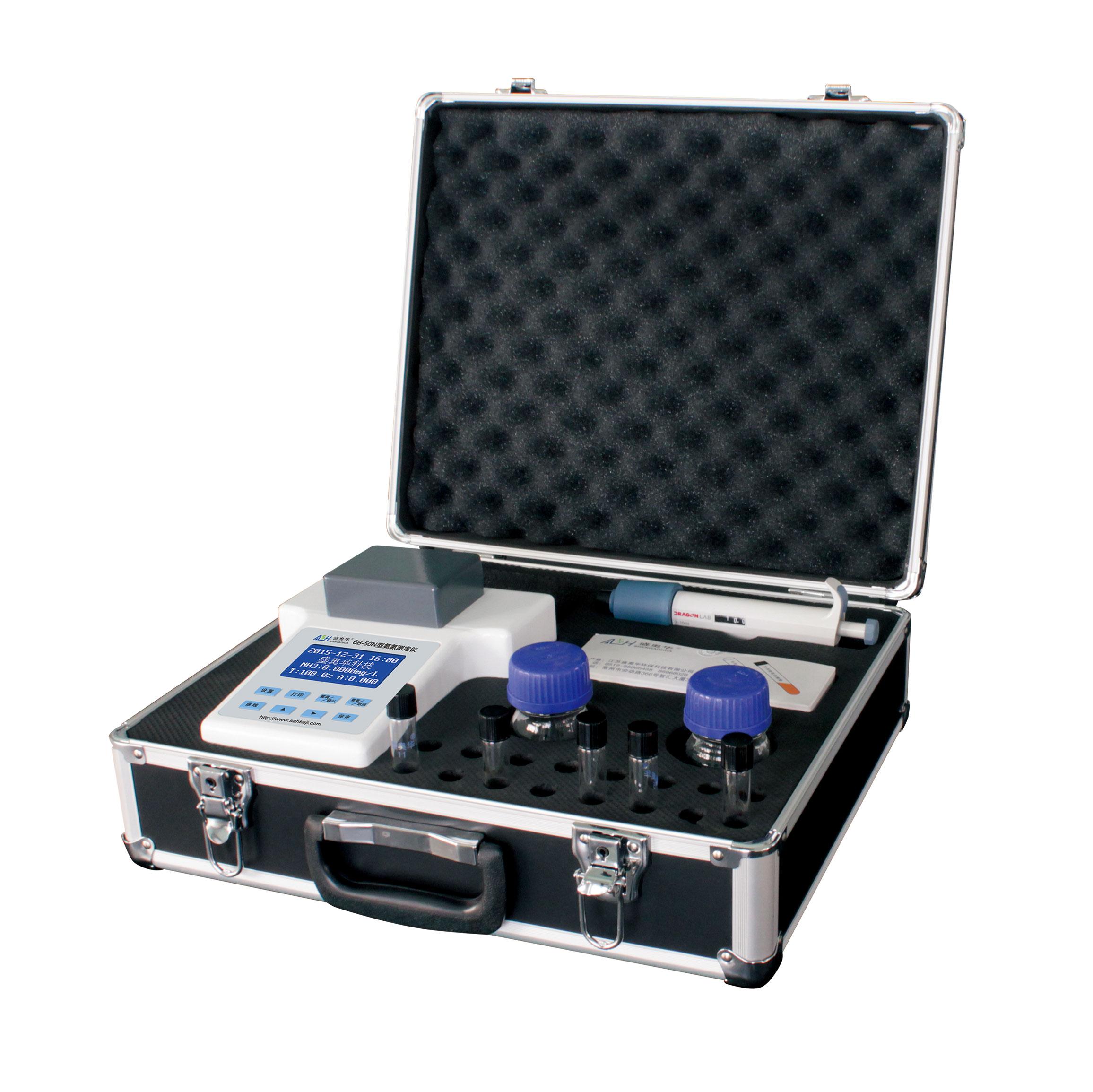 江苏盛奥华便携式氨氮测定仪6B-50N